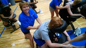 chair massage high school